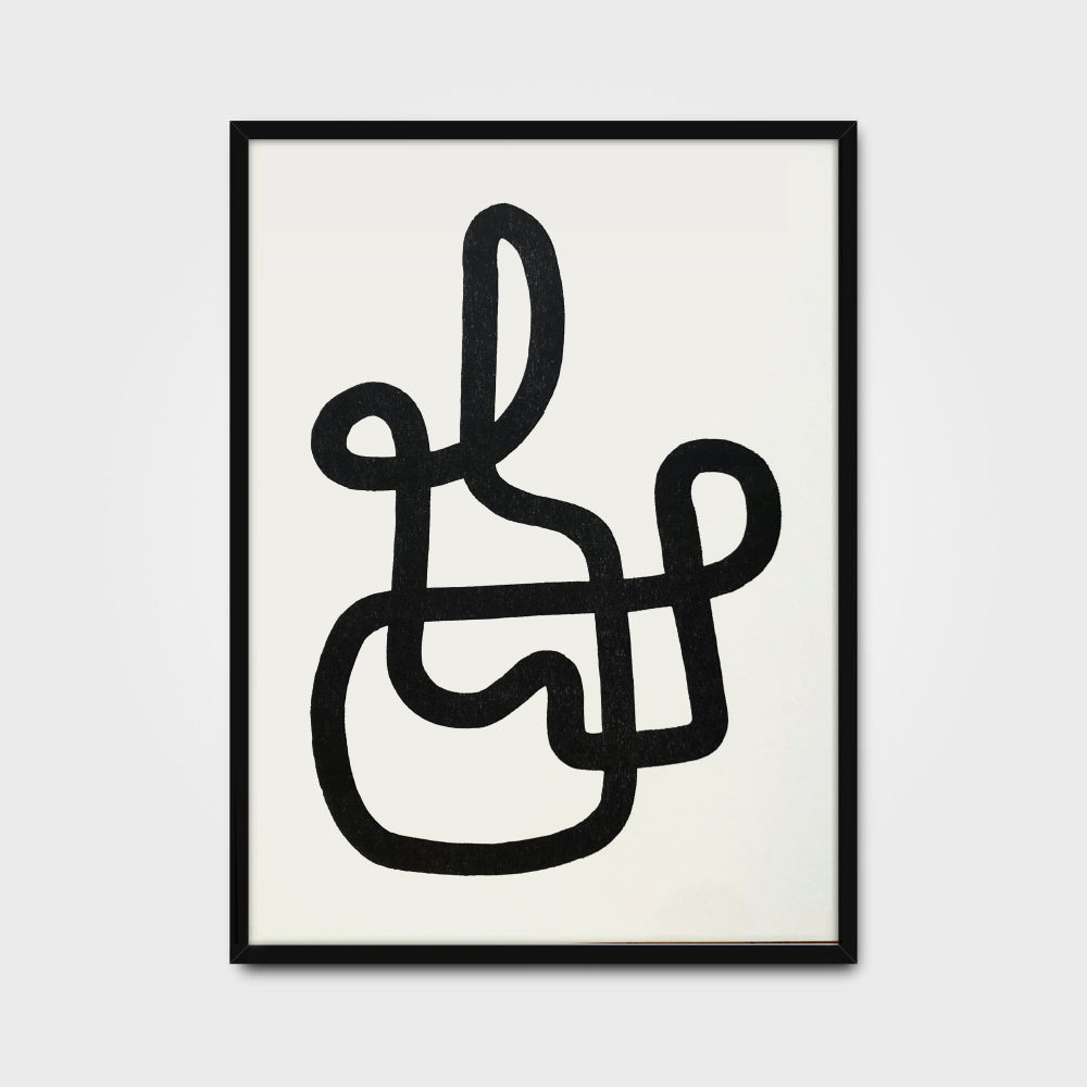 Ryan Habbyshaw <br> Continuous Line Print #5 QTY: 4
