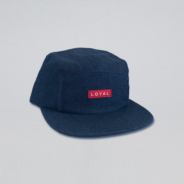 LOYAL INDIGO DENIM HAT