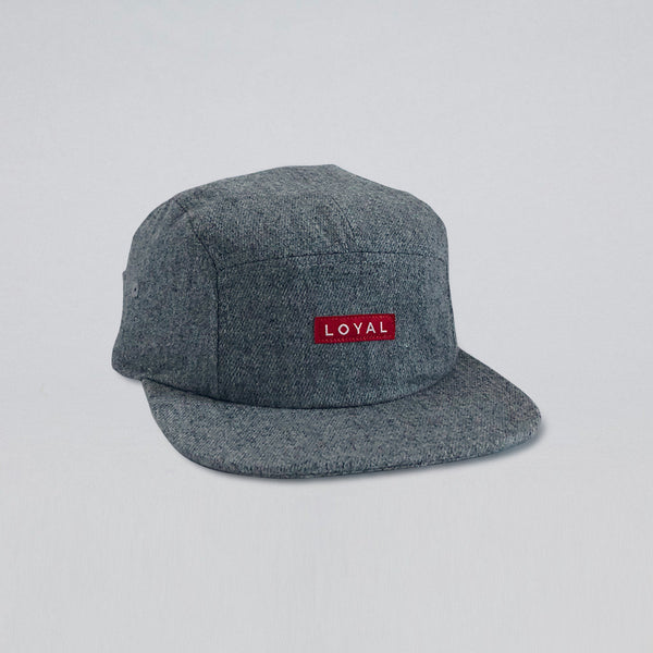 LOYAL GRAY FLANNEL HAT