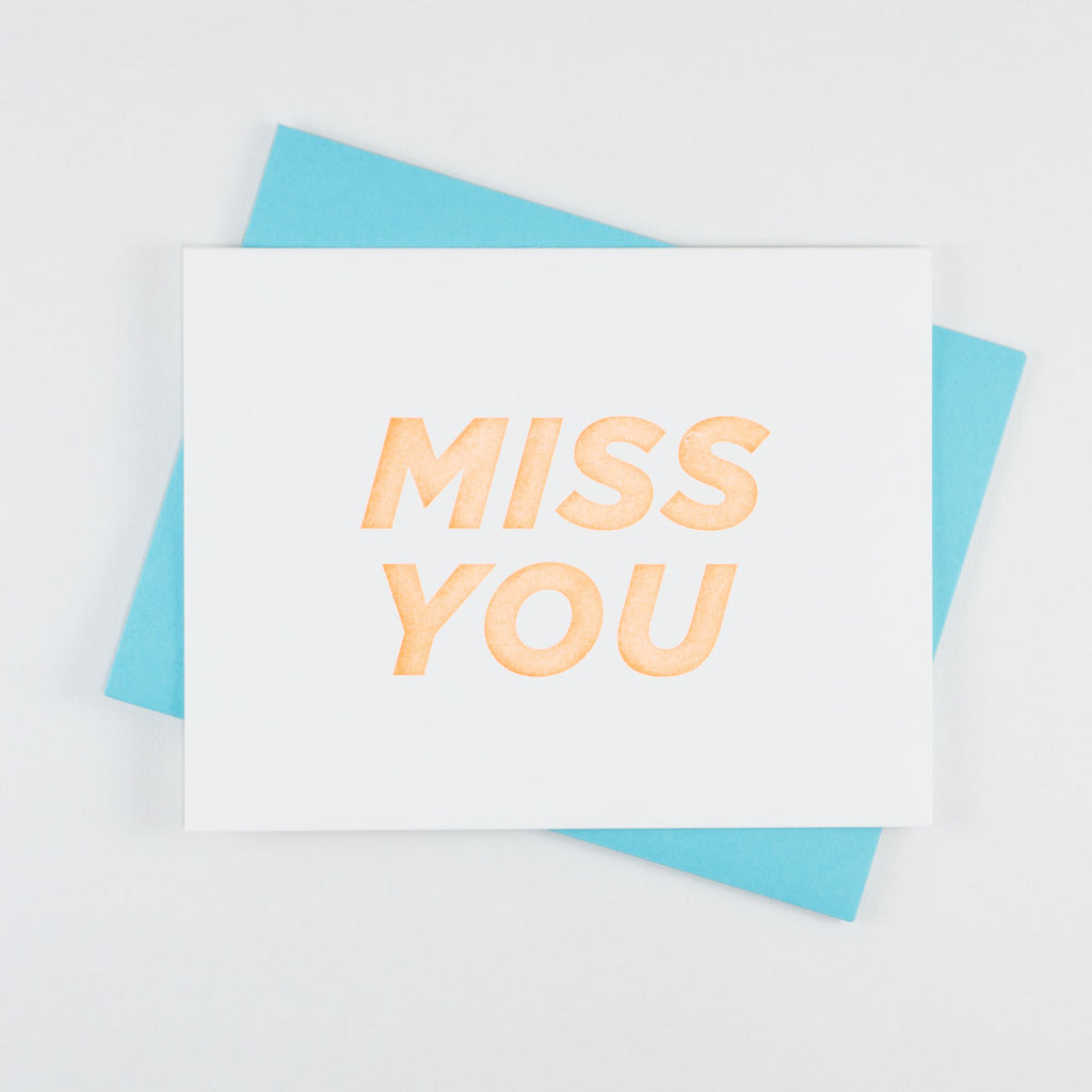 Bold Italic - Miss You - QTY: 6