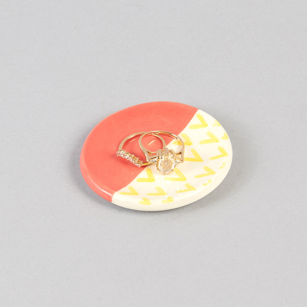Ring Dish - Mini - Red