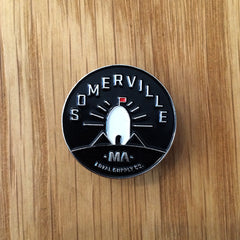 Enamel Pin - Powder House