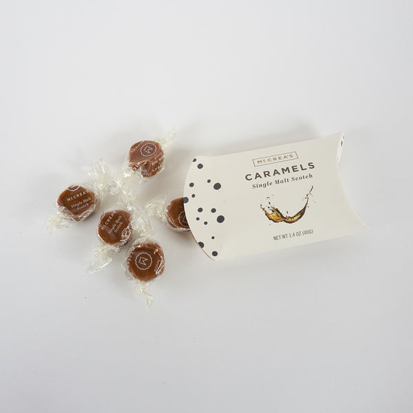 McCrea's Hand-Crafted Caramels - Small 5 Piece Pack
