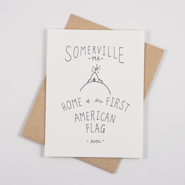 Somerville Flag Card