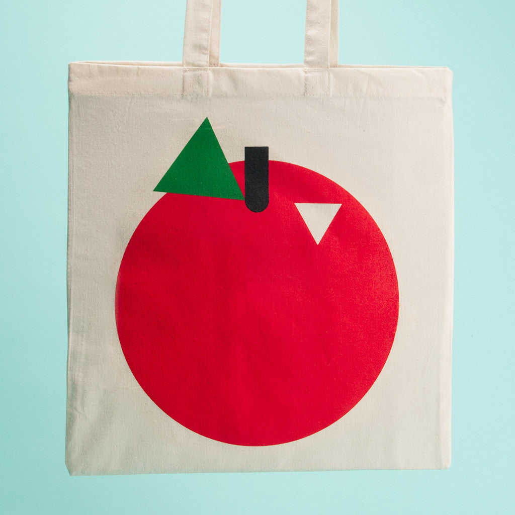 Apple Tote - QTY: 6