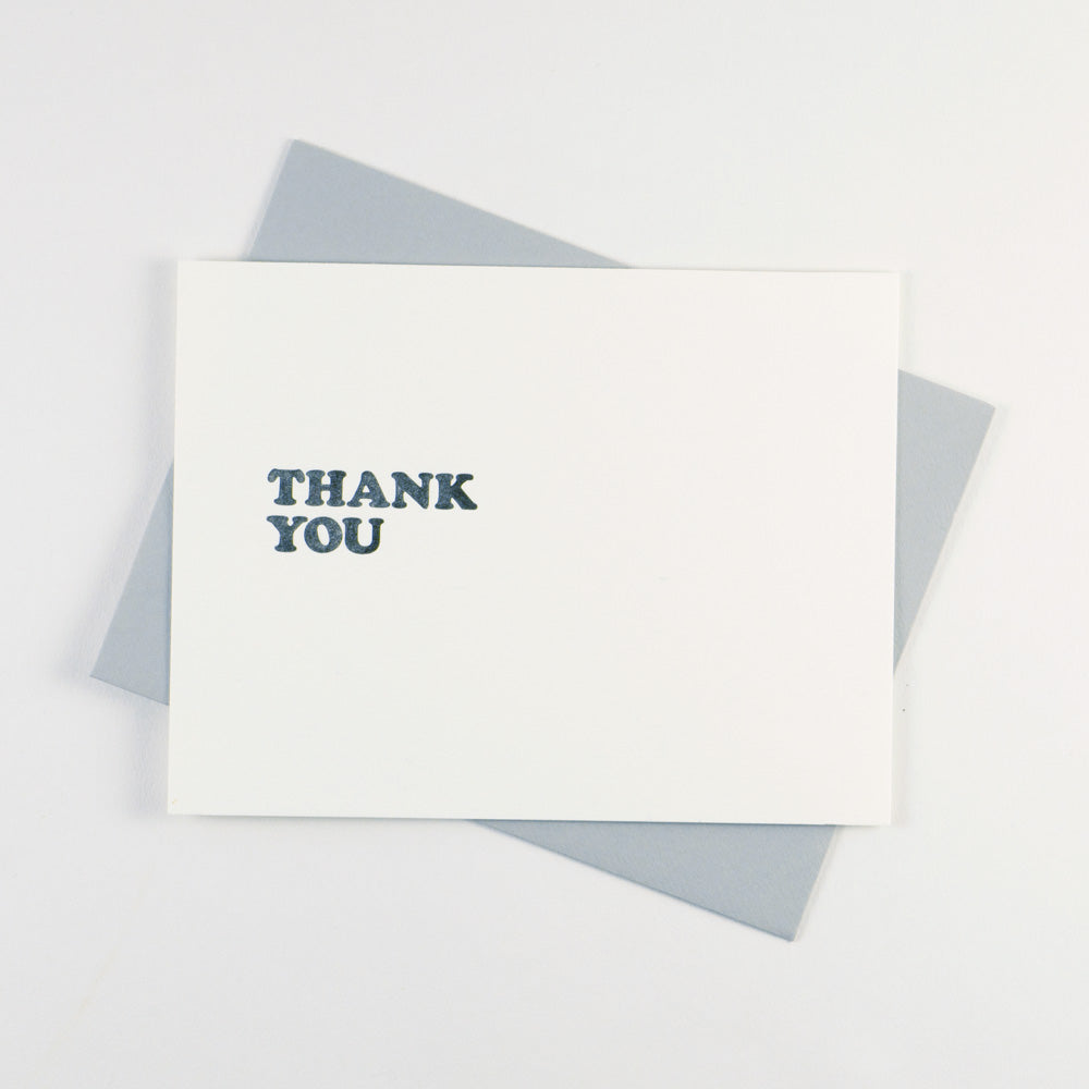 Cooper Black - Thank You - QTY: 6