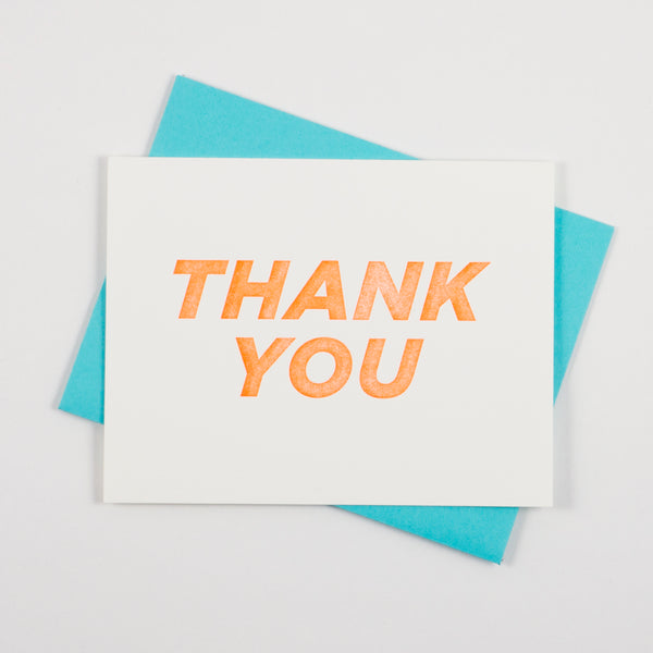 Bold Italic - Thank You - QTY: 6
