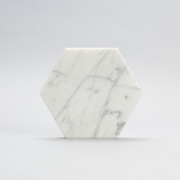 Marble Trivet - Hexagon