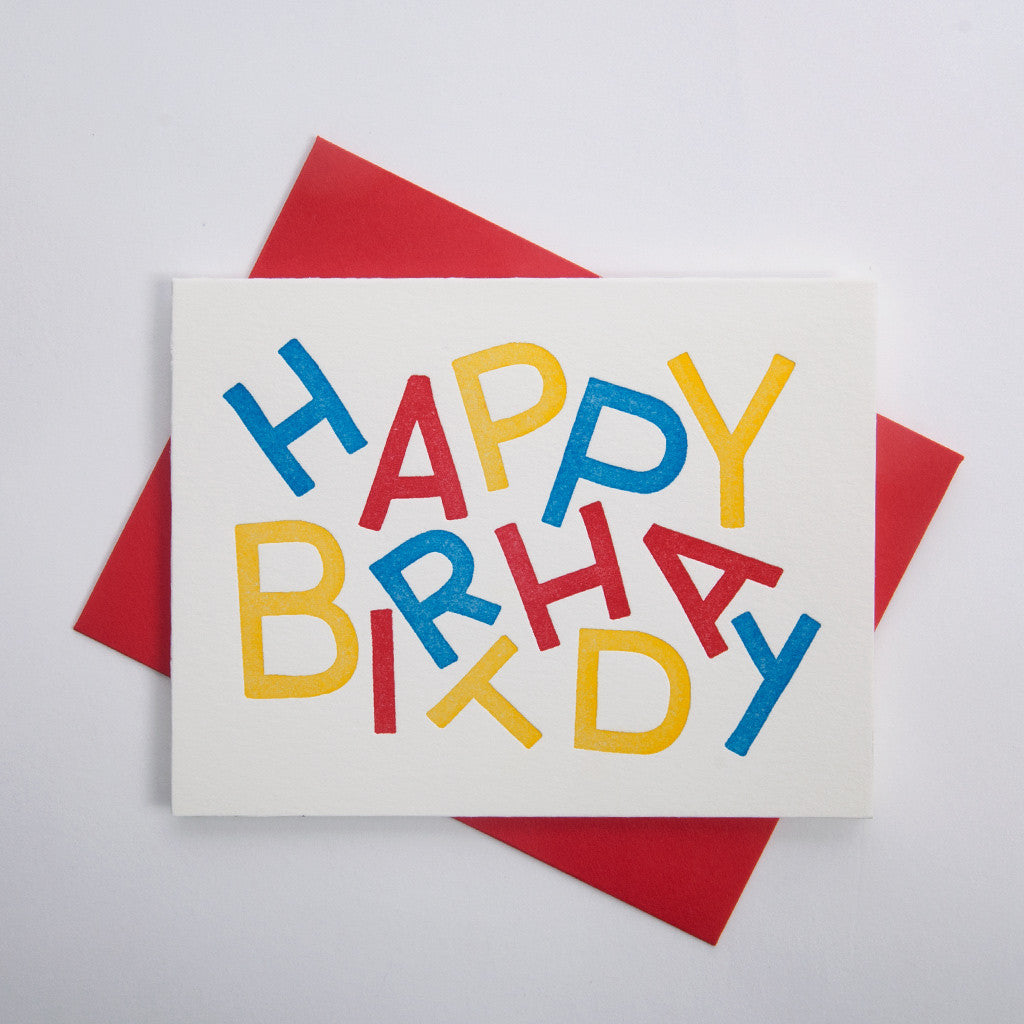 Birthday Series - Birthday Letter Jumble