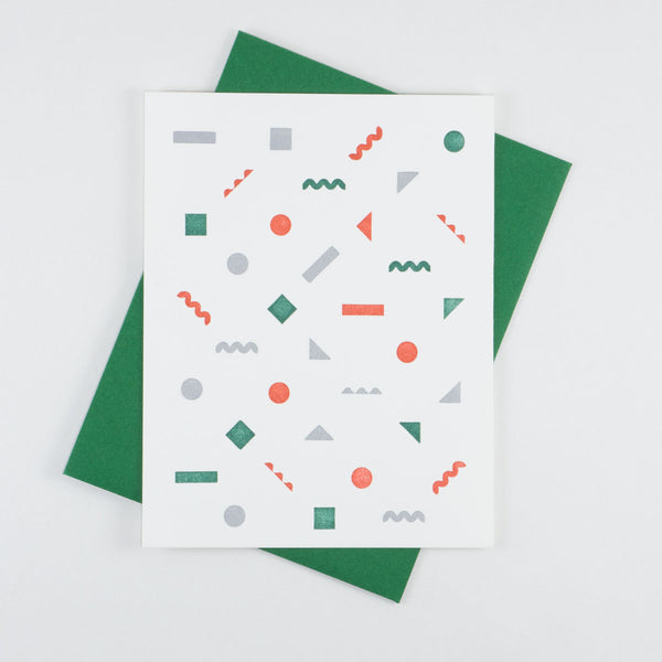 Christmas Confetti Card