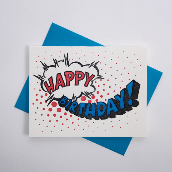Birthday Series - Comic Lettering