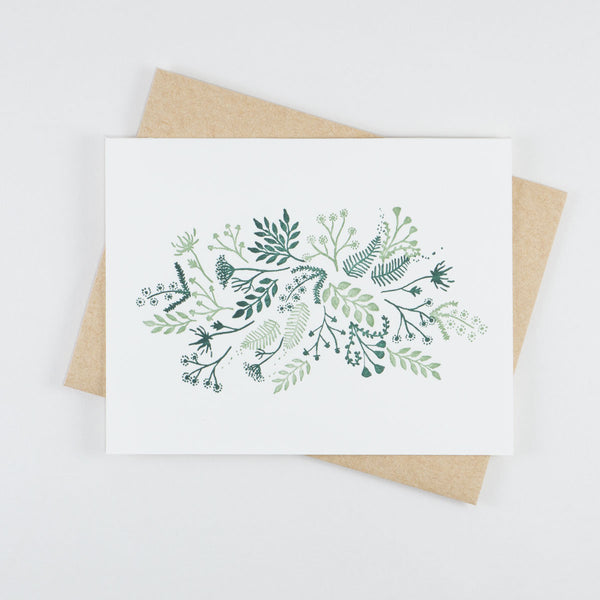 Floral Card Number 2 - QTY: 6