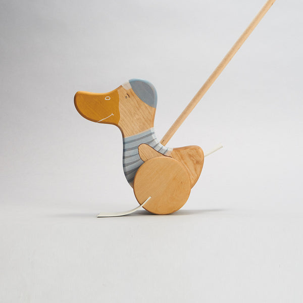 Wooden Push Duck Toy