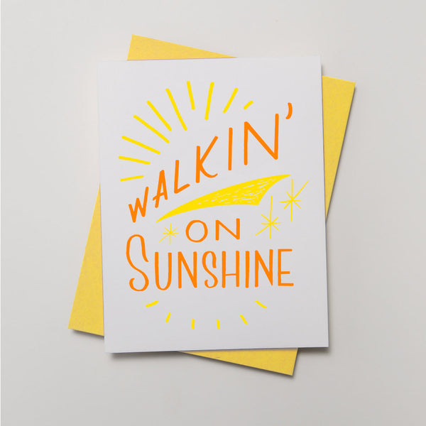 Walkin' On Sunshine - QTY: 6