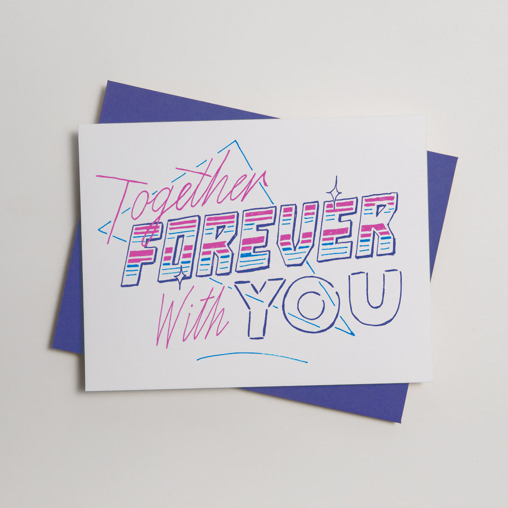 Lyric Series - Together Forever Card