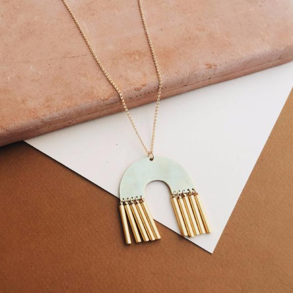 Abode Gold Fill Necklace
