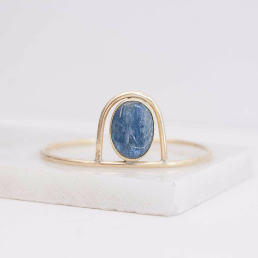 Kyanite Arch Bangle