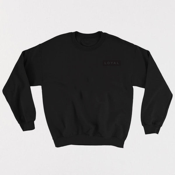 LOYAL Champion Crewneck - Black