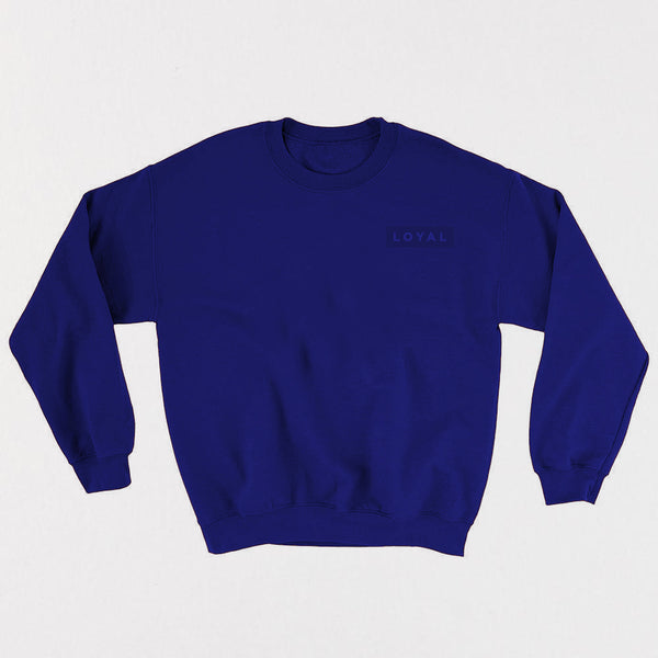 LOYAL Champion Crewneck - Blue