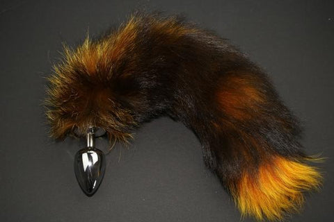 Real Fur Animal Tail Butt Plugs