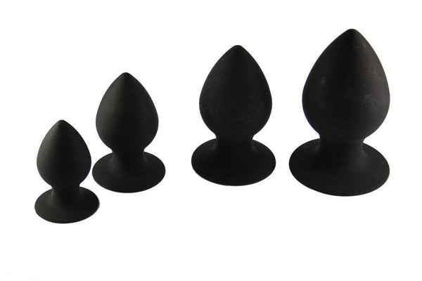 Silicone Anal Dilator Butt Plug Kit