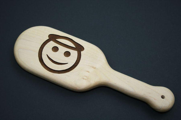 Angel Emoji BDSM Engraved Spanking Paddle