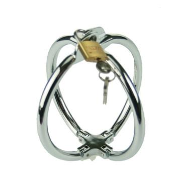 Locking Steel Cross-over Wrist Restraints