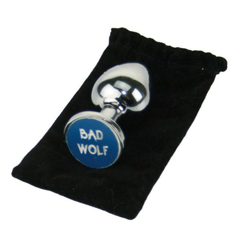 Bad Wolf Custom Solid Steel Butt Plug