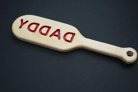 Big Daddy Engraved BDSM Spanking Paddle