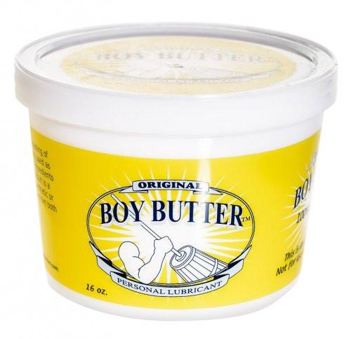 The Original Boy Butter Silicone Based Lubricant 16oz