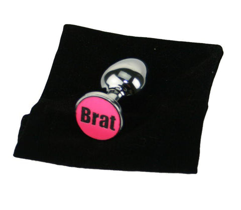 Brat Custom Solid Steel Butt Plug