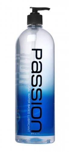 Passion Natural Water-Based Lubricant - 34 oz