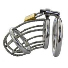 Steel Chastity Cage (Style 12)