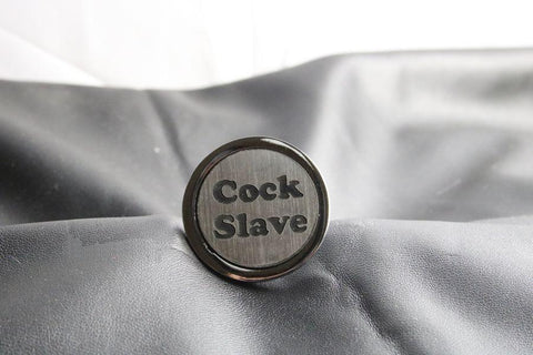 Cock Slave Custom Butt Plug Long