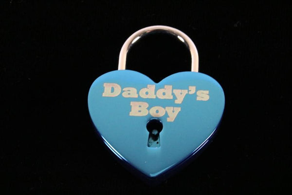 Daddy's Boy Lock for Chastity Play and Bondage