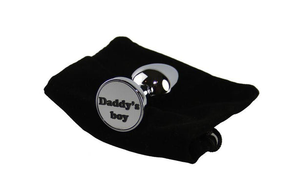 Daddy's boy Custom Solid Steel Butt Plug