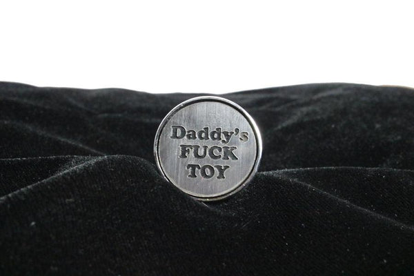 Daddy's F*ck Toy Custom Steel Butt Plug