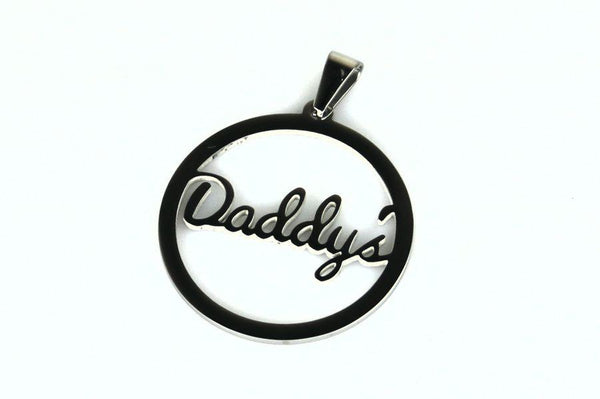 Daddy's Stainless Steel Pendant