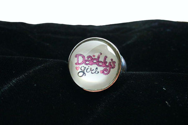 Daddy's Girl Butt Plug Embroidery Style Font