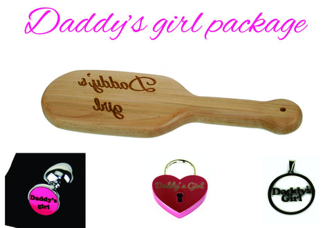 Daddy's Girl Toy Package
