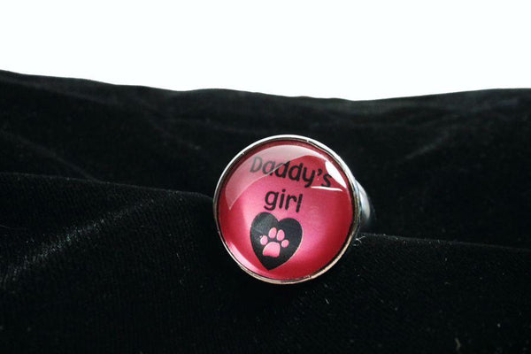 Daddy's Girl Paw Print Butt Plug