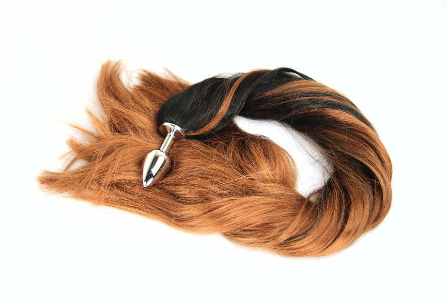 Desert Pony Tail Butt Plug Synthetic Tail 1  The Kink -2123