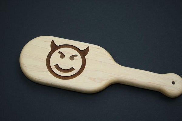 Devil Impression Spanking Paddle by The Kink Factory