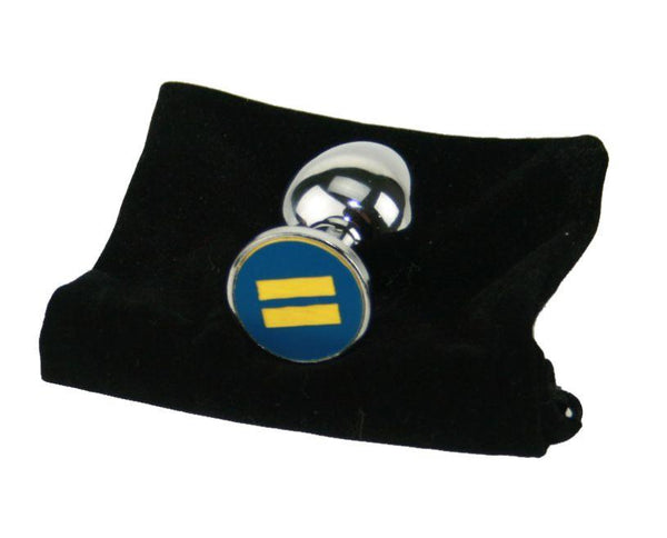 Equality Custom Solid Steel Butt Plug