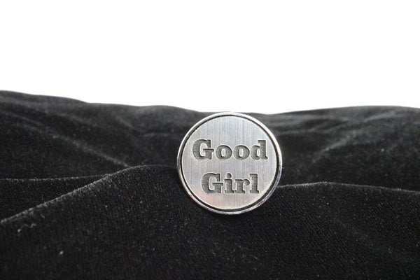 Good Girl Custom Steel Butt Plug