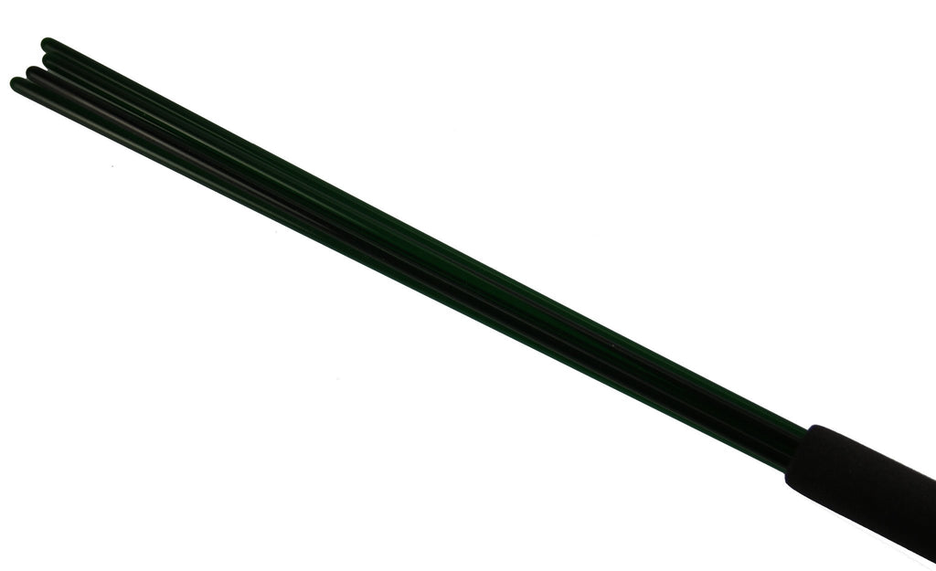 Green Acrylic Beater Cane 18 inches of Stingy Impact!