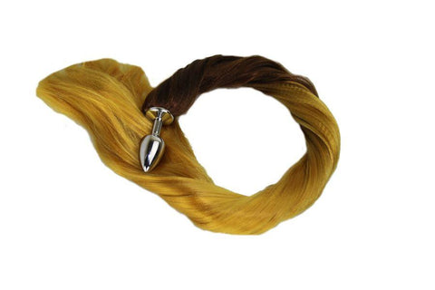 Harmony Pony Tail Butt Plug Synthetic Tail (36)