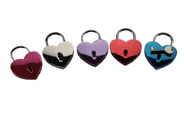 Heart Lock for Bondage or Chastity Play