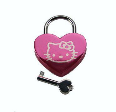 Kitty Heart Lock for Bondage
