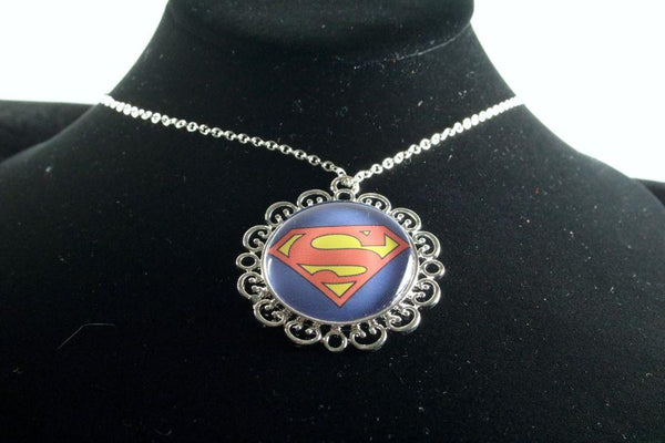 Custom Hero Flower Pendant Silver Finish